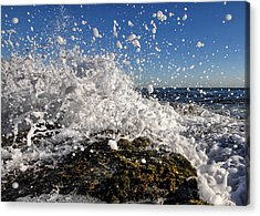 Froth And Bubble Acrylic Print