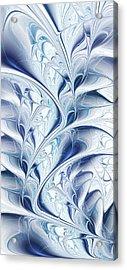 Frozen Acrylic Print by Anastasiya Malakhova