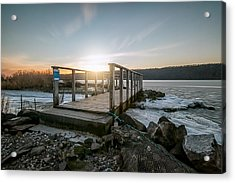 Acrylic Print featuring the photograph Frozen by Anthony Fields