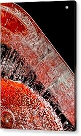 Frozen Balls Acrylic Print by Bob Orsillo