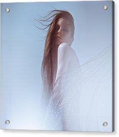 Frozen Acrylic Print by Eugenia Kirikova