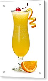 Frozen Orange Drink Acrylic Print