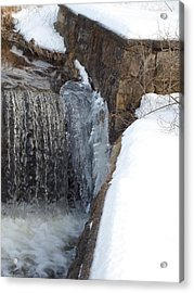 Frozen Over With Ice Acrylic Print by Jenna Mengersen