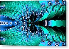 Frozen Phoenix Acrylic Print