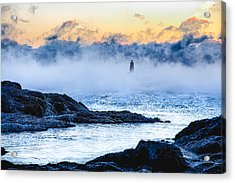 Frozen Tide Acrylic Print by Robert Clifford