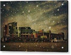 Frozen Tundra Part II - Lambeau Field Acrylic Print