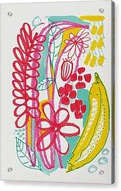 Fruit Abstract Acrylic Print