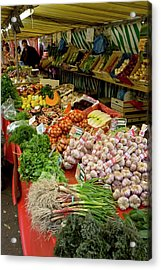 Fruit And Veg Market Acrylic Print