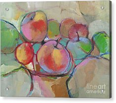 Fruit Bowl #5 Acrylic Print by Michelle Abrams