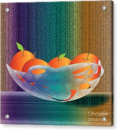 Fruit Bowl Acrylic Print