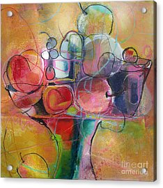 Fruit Bowl No.1 Acrylic Print by Michelle Abrams