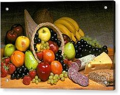 Fruit Cornucopia  Acrylic Print by Craig Lovell