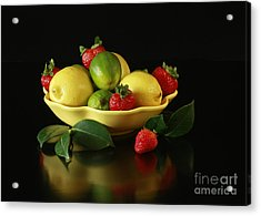Fruit Explosion Acrylic Print by Inspired Nature Photography Fine Art Photography