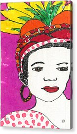 Fruit Hat Acrylic Print