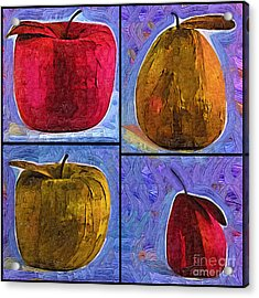 Fruit Acrylic Print by Kirt Tisdale