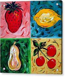 Fruit Ll Acrylic Print by Cynthia Hudson
