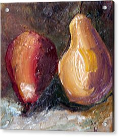 Acrylic Print featuring the painting Fruit Of The Same Tree by Michael Helfen