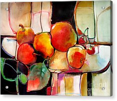 Fruit On A Dish Acrylic Print