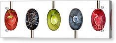 Fruit Spoons Acrylic Print by Tim Gainey