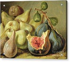 Fruit Still Life Acrylic Print by Johann Heinrich Wilhelm Tischbein