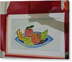 Fruit Trey Acrylic Print by Ramroop Yadav