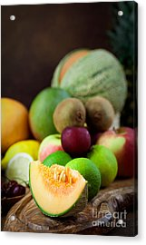 Fruit Variety Acrylic Print by Mythja  Photography