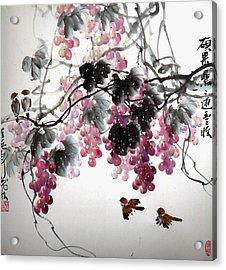 Fruitfull Size 3 Acrylic Print by Mao Lin Wang