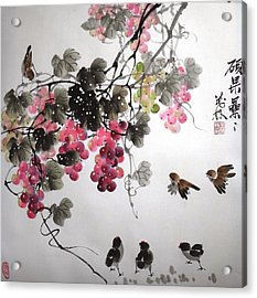 Fruitfull Size 4 Acrylic Print by Mao Lin Wang