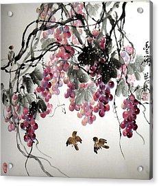 Fruitfull Size Acrylic Print by Mao Lin Wang