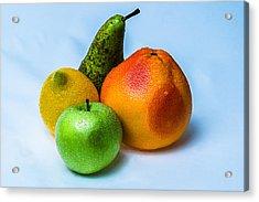 Fruits Acrylic Print by Alexander Senin