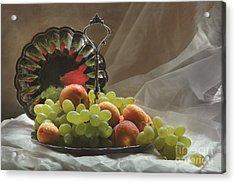 Fruits Acrylic Print by Irina No