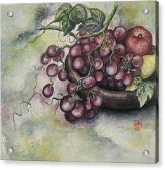 Fruits Acrylic Print by Tomoko Koyama