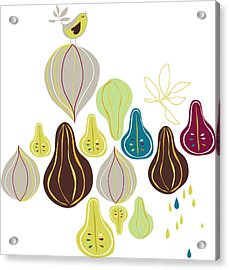 Fruits Wallpaper Acrylic Print