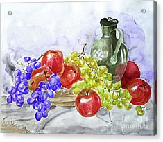 Fruit After Him Acrylic Print by Jasna Dragun