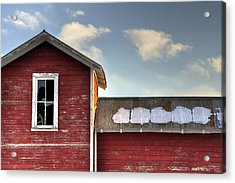 Ft Collins Barn 13493 Acrylic Print by Jerry Sodorff