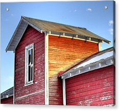 Ft Collins Barn 13502 Acrylic Print by Jerry Sodorff