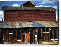 Ft Collins Barn 13553 Acrylic Print by Jerry Sodorff