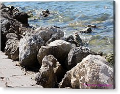 Ft. Pierce Inlet Acrylic Print