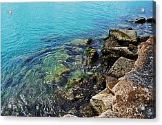 Ft Pierce Waters Acrylic Print by Rachael M