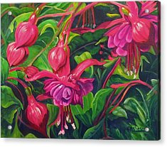 Fuchsia Fantastic Acrylic Print
