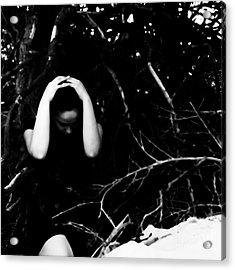 Fuck Acrylic Print by Jessica Shelton