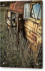 Acrylic Print featuring the photograph Fuel Oil Truck by Greg Jackson