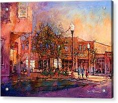 Fuguay Varina Evening Acrylic Print