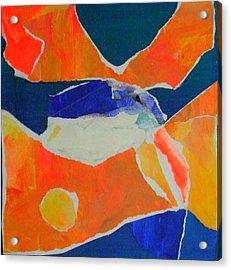 Fugue Acrylic Print by Diane Fine