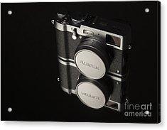Fujifilm X100t Camera Acrylic Print by Edward Fielding
