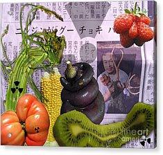 Fukushima Veggies Acrylic Print