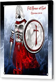 Full Armor Of God Acrylic Print