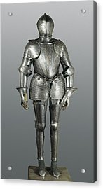 Full Armour. Made In Milan Acrylic Print by Everett