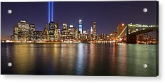 Full City View Acrylic Print by Shane Psaltis