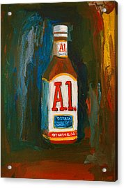 Full Flavored - A.1 Steak Sauce Acrylic Print